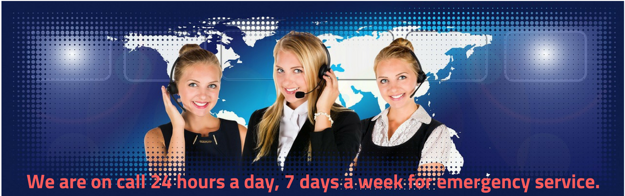 We are on call 24 hours a day, 7 days a week for emergency service.